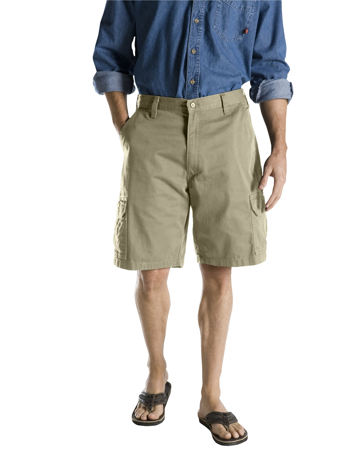 "Dickies Drop Ship - 40214 10"" Loose Fit Cargo Short"