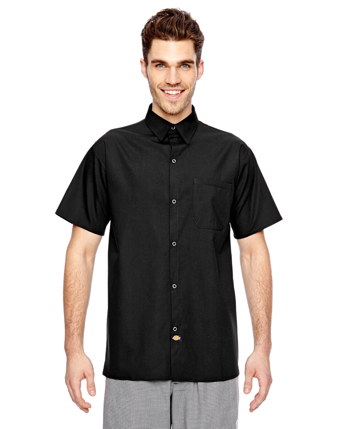 f730dc28164 Dickies Drop Ship - DC125 Cook Shirt with Chest Pocket