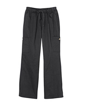 Dickies Drop Ship - DC219 Women's Chef Pant with Cargo Pockets