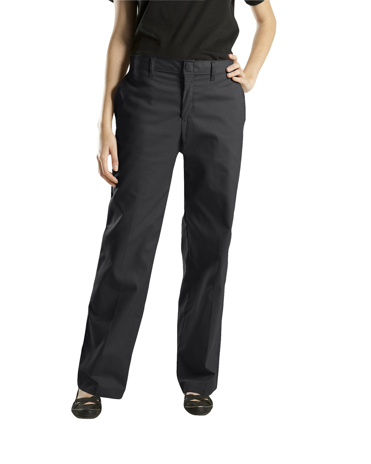 Dickies Drop Ship - FP221  Women's Premium Flat Front Pant
