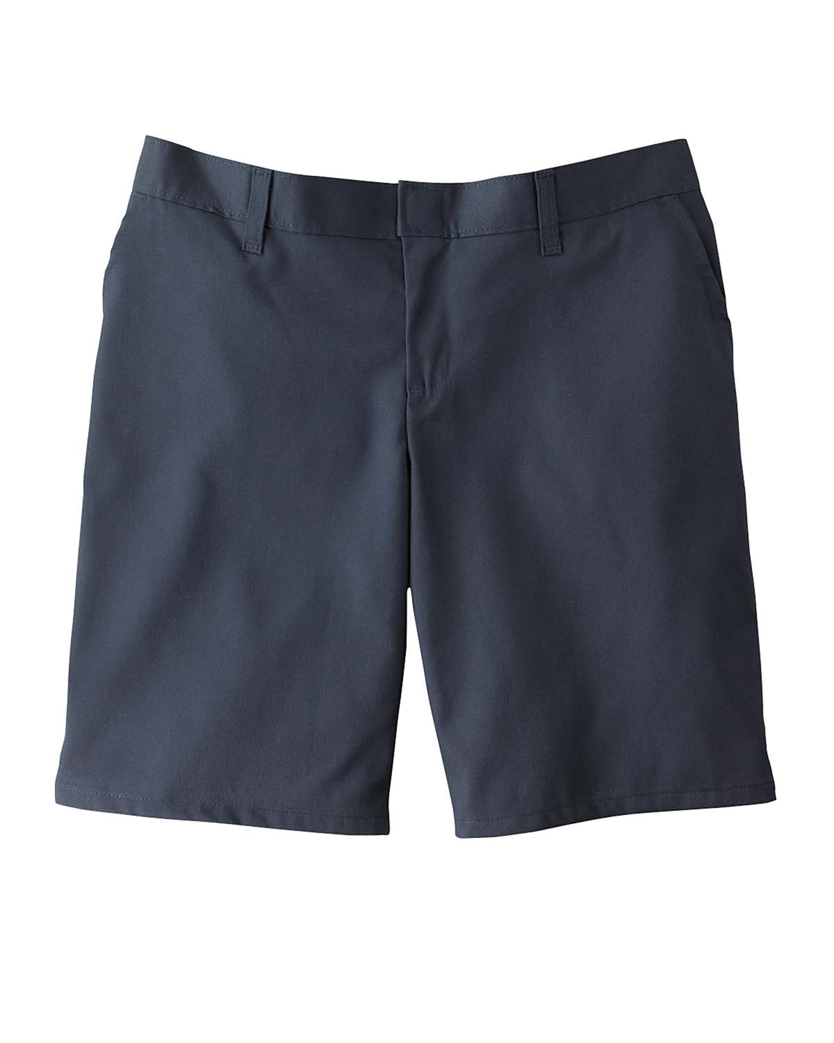 "Dickies Drop Ship - FR221 Women's 9"" Flat Front Short"