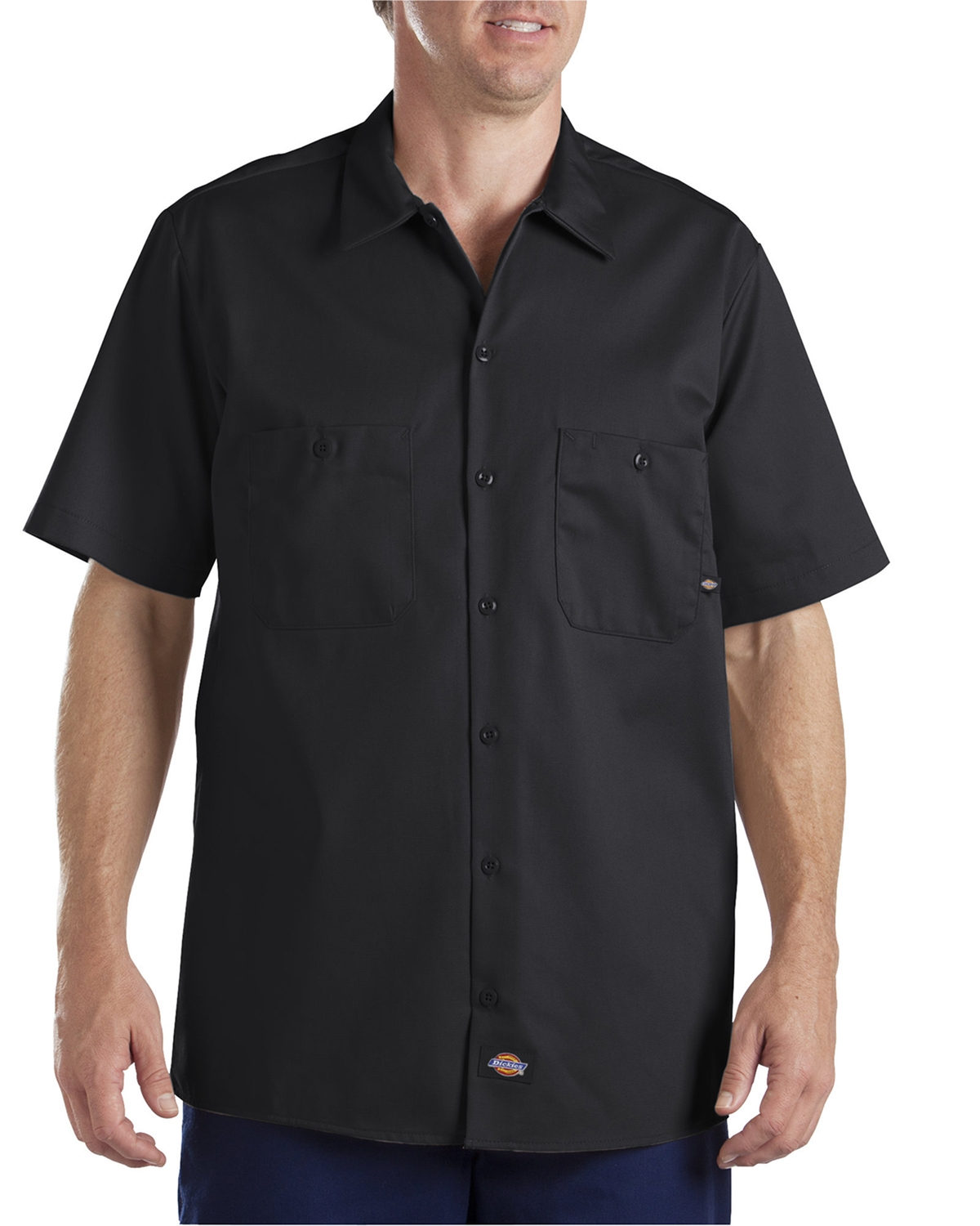 Dickies Drop Ship - LS307 Industrial Short-Sleeve Cotton ...