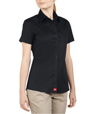 Dickies Drop Ship - PL413  Ladies' Short-Sleeve Button ...