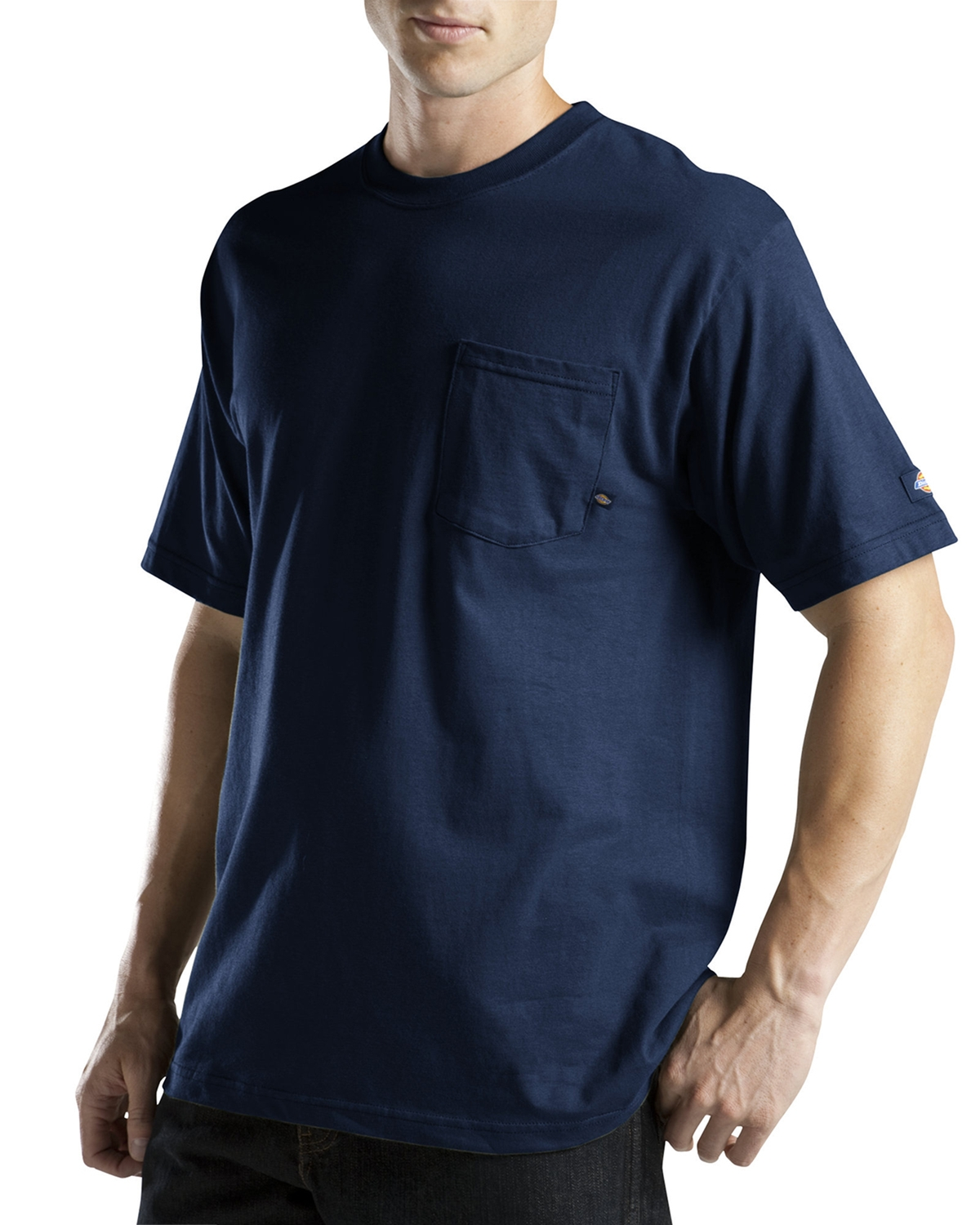 Dickies Drop Ship - WS417T Short-Sleeve Pocket T-Shirt with Wicking