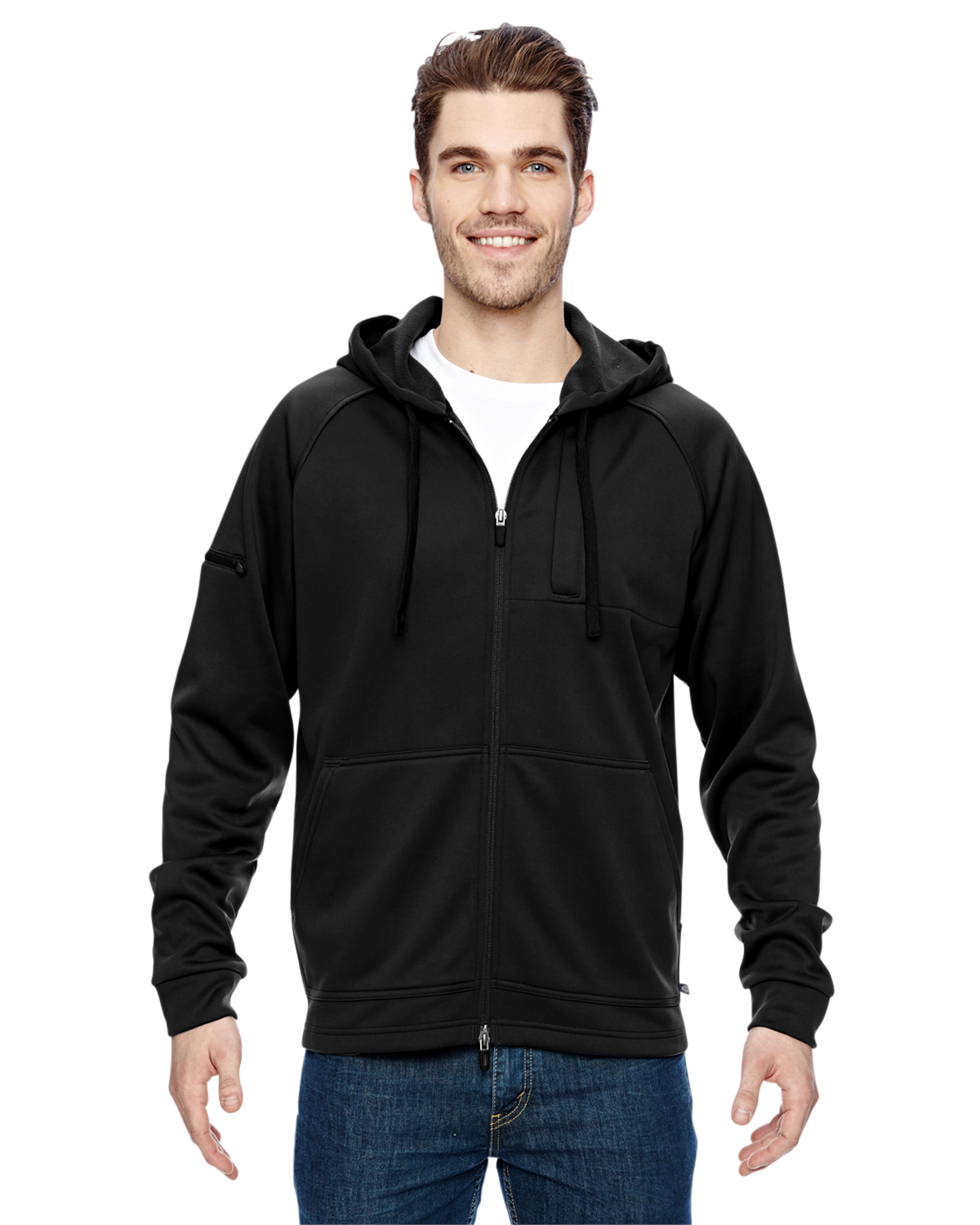 Dickies LJ536 - 7.4 oz. Tactical Full-Zip Fleece Jacket