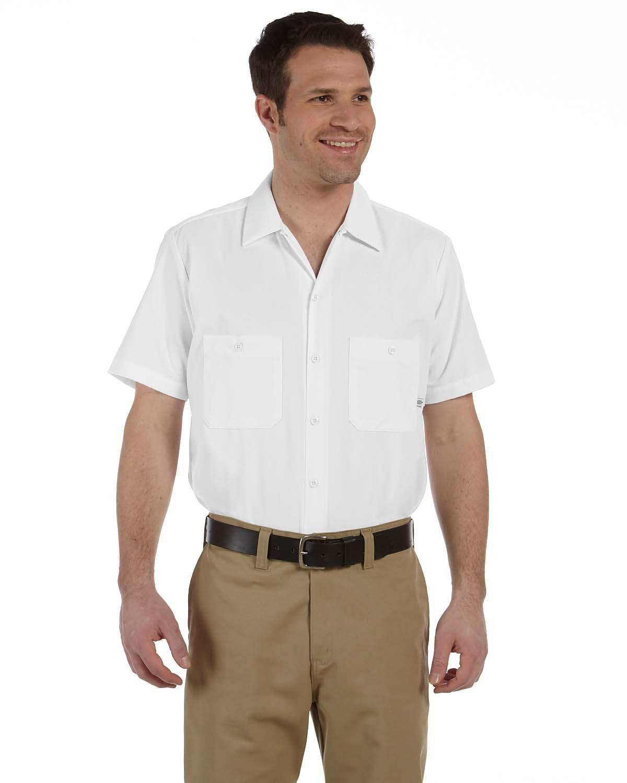 Dickies Occupational LS535 - Short Sleeve Poplin Work ...