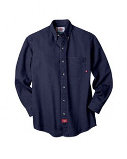 Dickies WL300 - 8 OZ DENIM LONG SLEEVE SHIRT