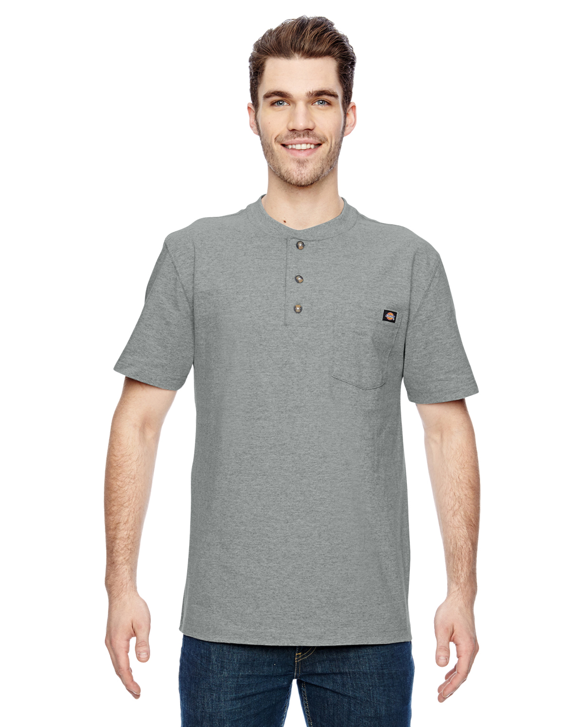 Dickies WS451 - Heavyweight Work Henley