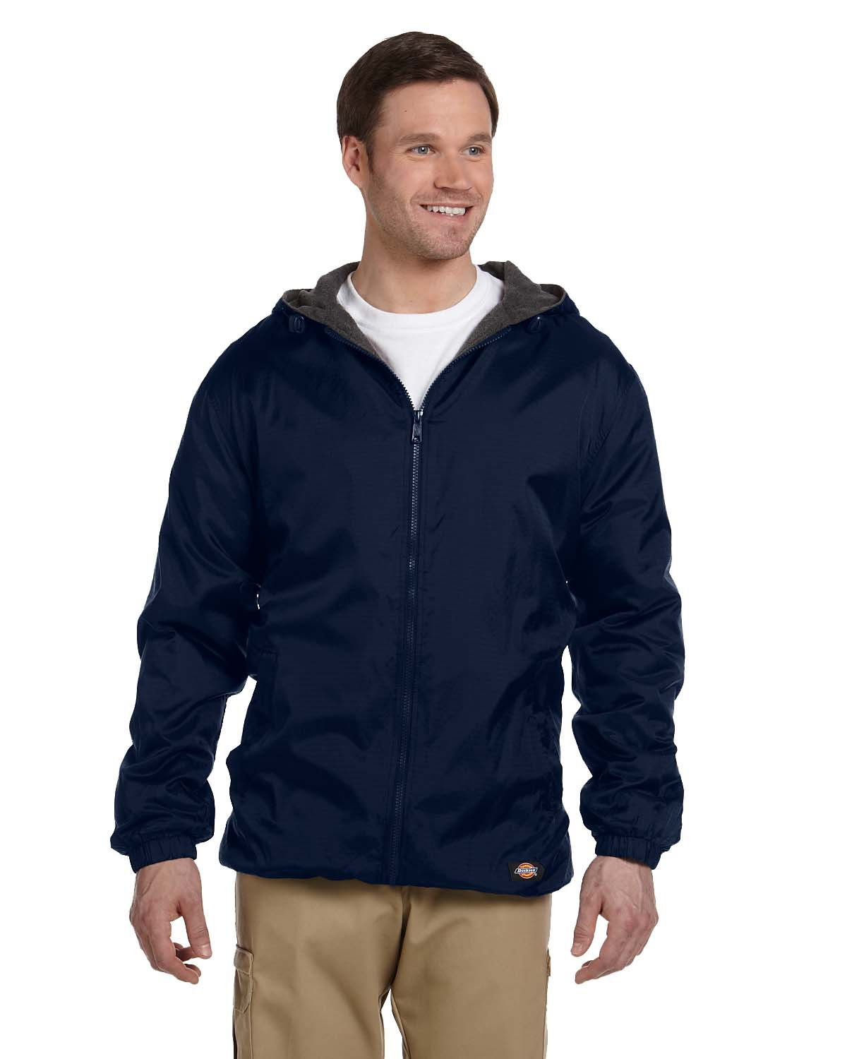 Dickies 33237 - Adult Fleece-Lined Rip Stop Jacket