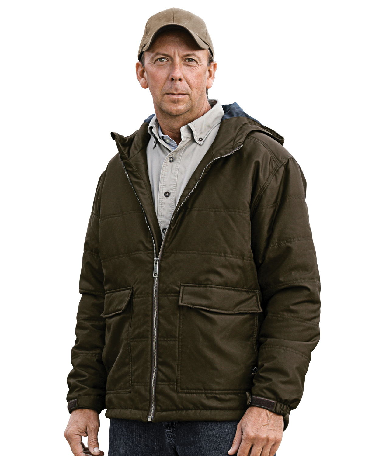 DRI DUCK 5336 - Trooper Tuff Tech Therma Puff Hooded Jacket
