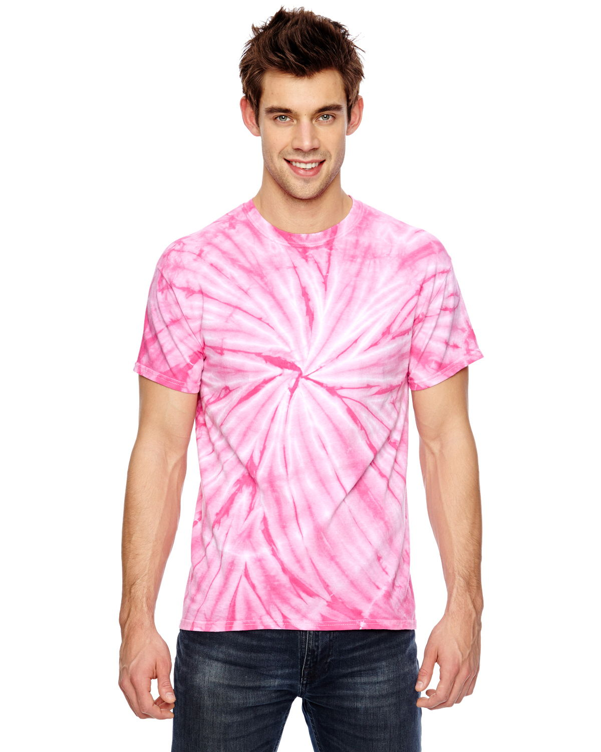 Dyenomite 365CY - Team Tonal Cyclone Tie-Dyed T-Shirt