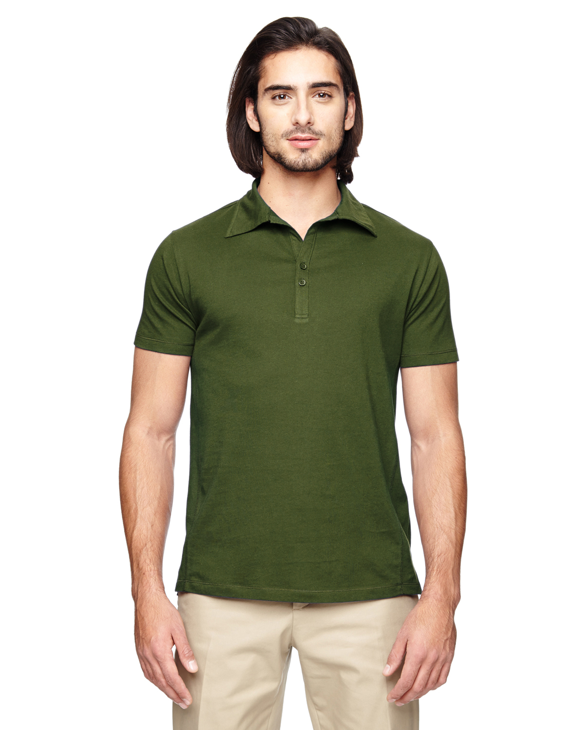 Econscious EC2505 - Men's 4.4 oz. 100% Organic Cotton Jersey Short-Sleeve Polo