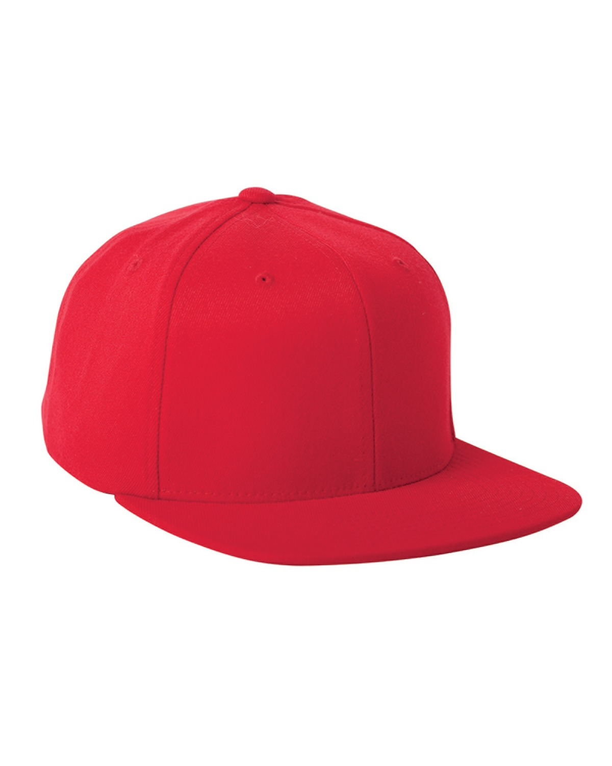 Flexfit Wool Blend Flat Bill Snapback Cap - 110F