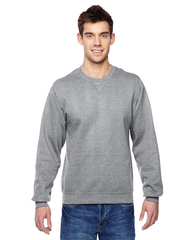 06214722 Fruit of the Loom SF72R - 7.2 oz. Sofspun Crewneck Sweatshirt $5.76 - Men's  Fleece