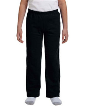 Gildan G184B Youth Heavy Blend™ 8 oz., 50/50 Open-Bottom Sweatpants