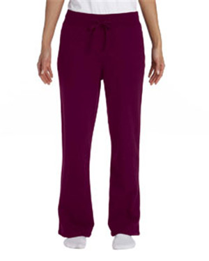 Gildan G184FL Ladies 7.75 oz. Heavy Blend50/50 Open-Bottom Sweatpants