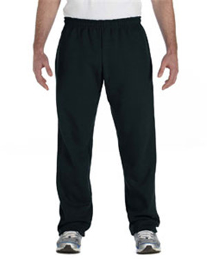 Gildan G184 Adult Heavy Blend™ Adult 8 oz., 50/50 Open-Bottom Sweatpants