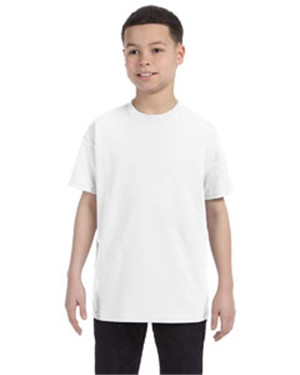 Gildan G500B Youth  5.3 oz. Heavy Cotton T