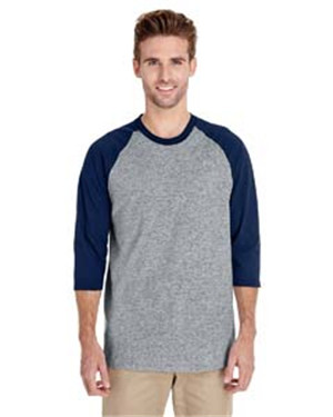 Gildan G570 - Heavy Cotton Three Fourth Sleeve Raglan