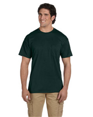 Gildan G830 DryBlend5.6 oz., 50/50 Pocket T