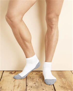 Gildan GP731 - Platinum Ankle Socks (White)