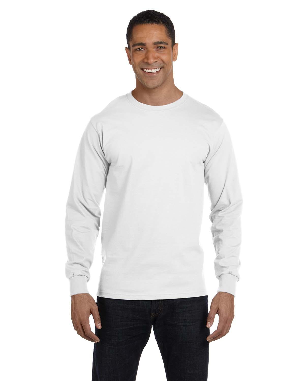 70a61116 Hanes 5286 - ComfortSoft Heavyweight Long Sleeve T-Shirt