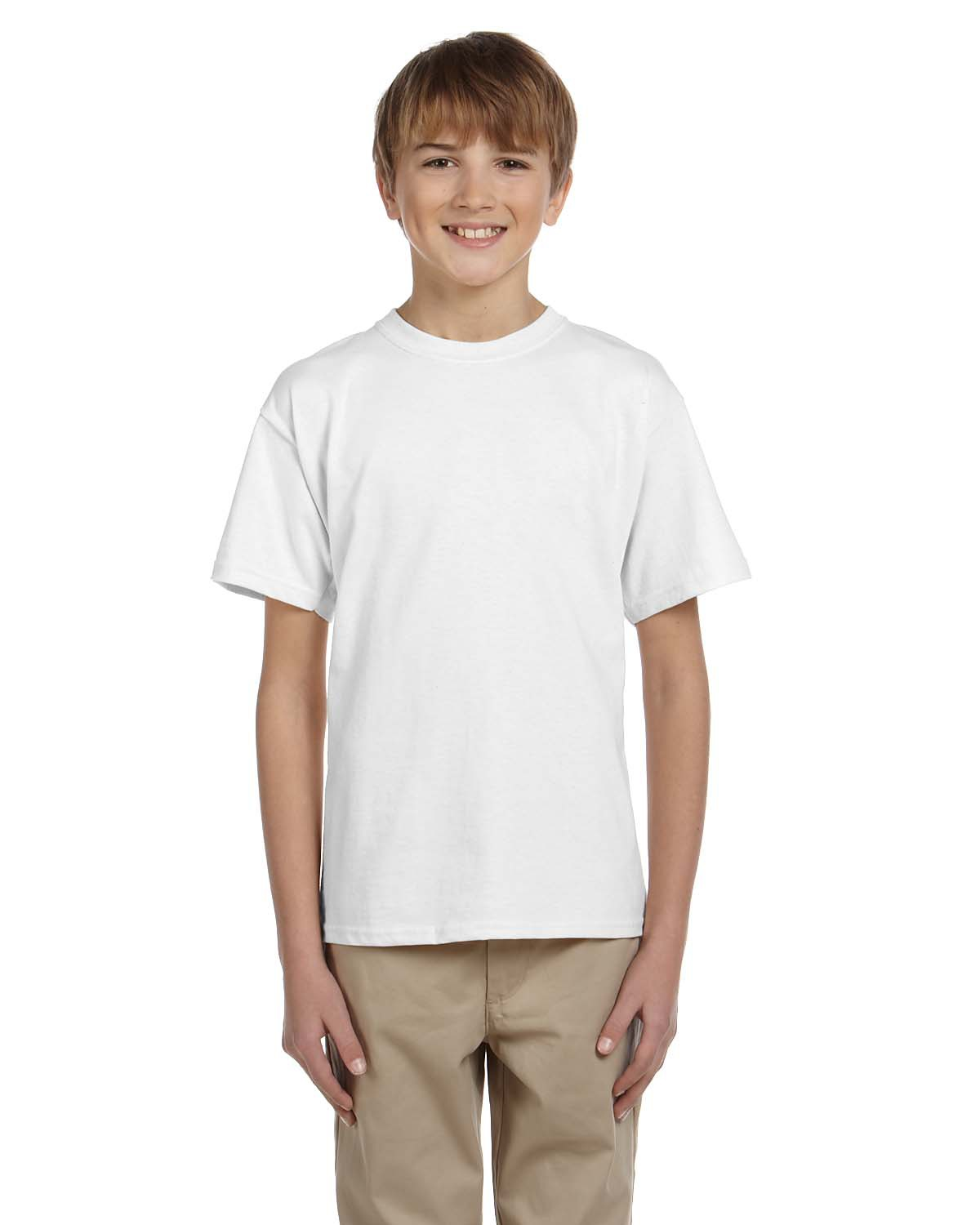 Hanes® 5370 Youth ComfortBlend® 50/50 Cotton/Poly T-Shirt