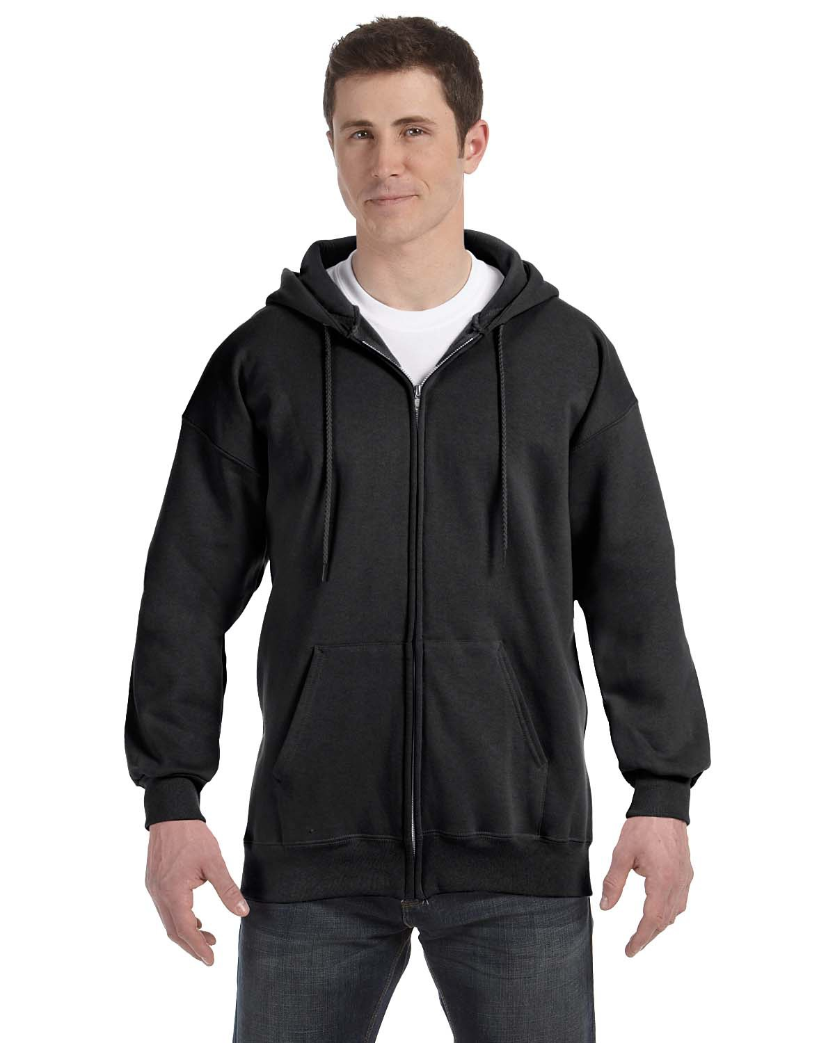 Hanes F280 - PrintProXP Ultimate Cotton Full-Zip Hooded ...