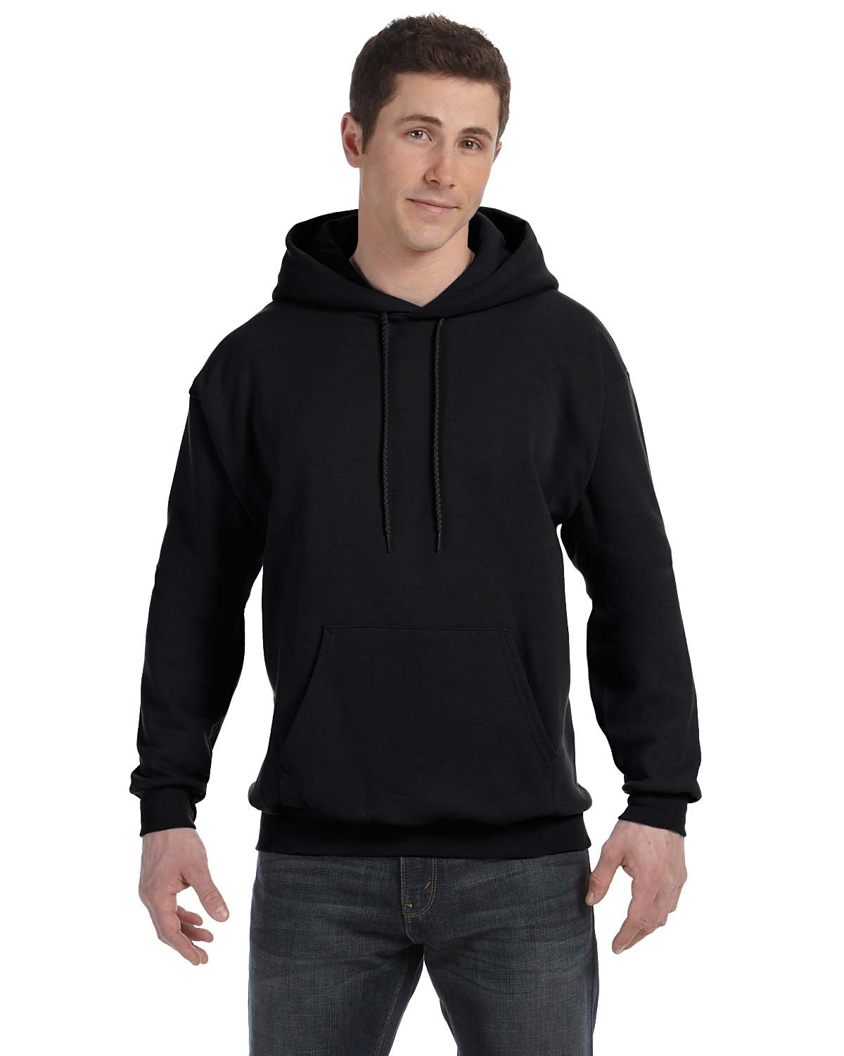 Hanes Comfort EcoSmart Pullover Hooded Sweatshirt Light Steel