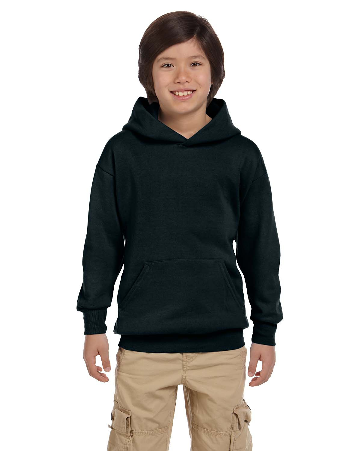 Hanes P473 - ComfortBlend EcoSmart Youth Hooded Sweatshirt