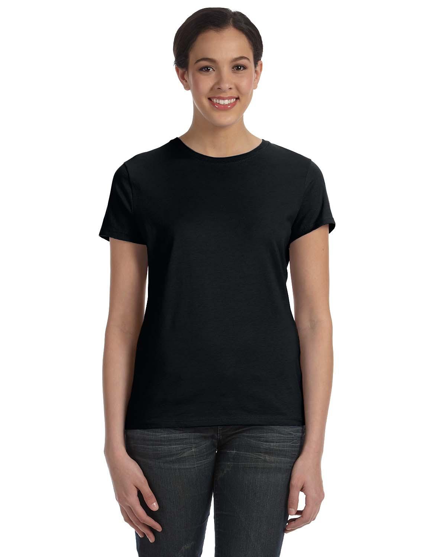 hanes 4980 adult nano t t shirt men 39 s t shirts. Black Bedroom Furniture Sets. Home Design Ideas