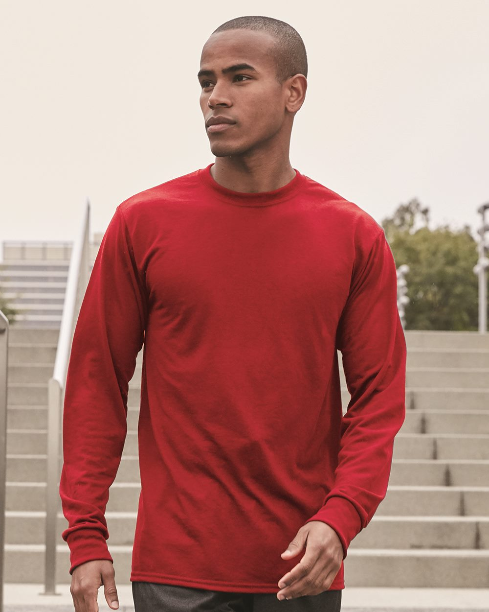 JERZEES 21ML - Sport Performance Long Sleeve T-Shirt