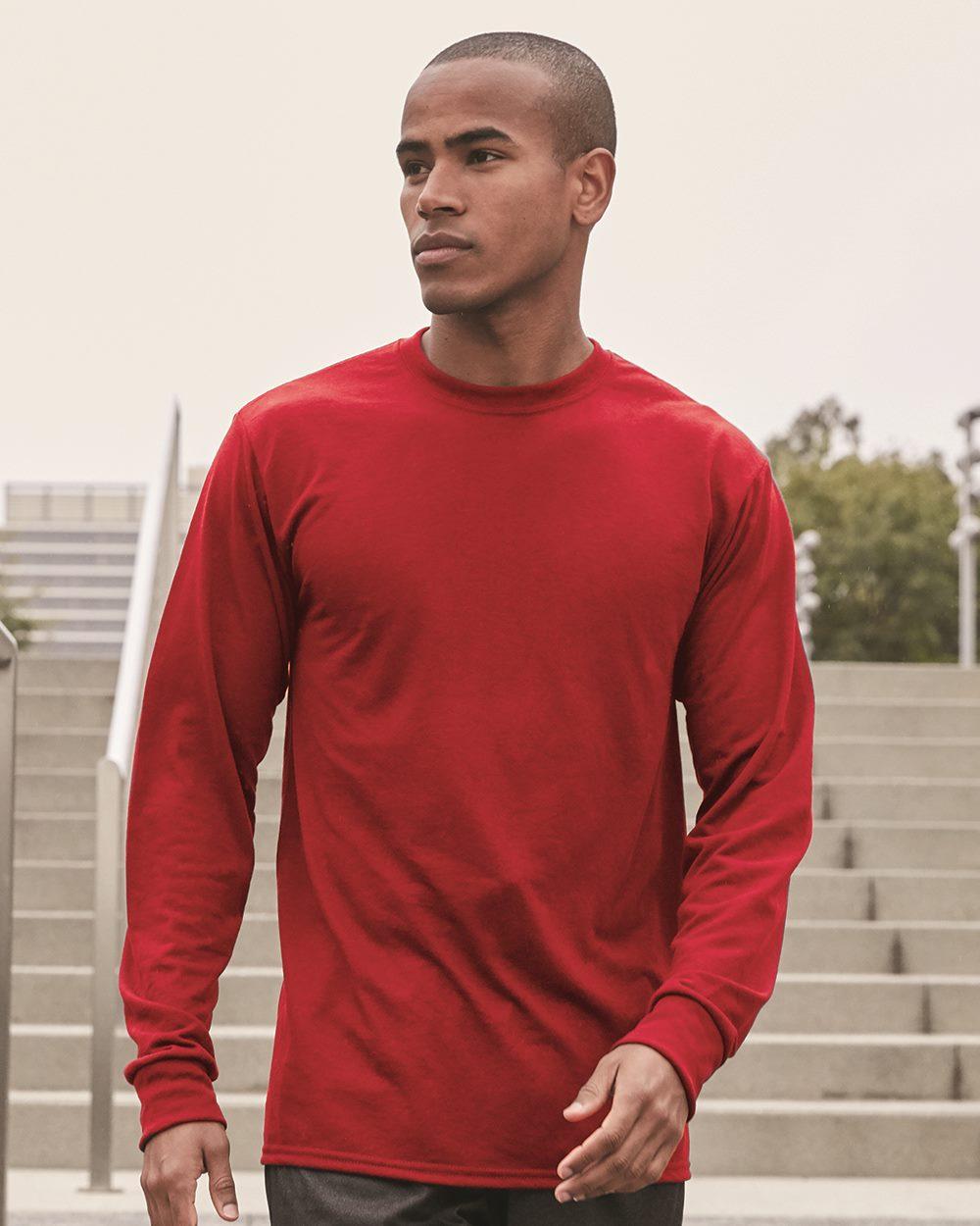 JERZEES 21ML - Sport Performance Long Sleeve T-Shirt