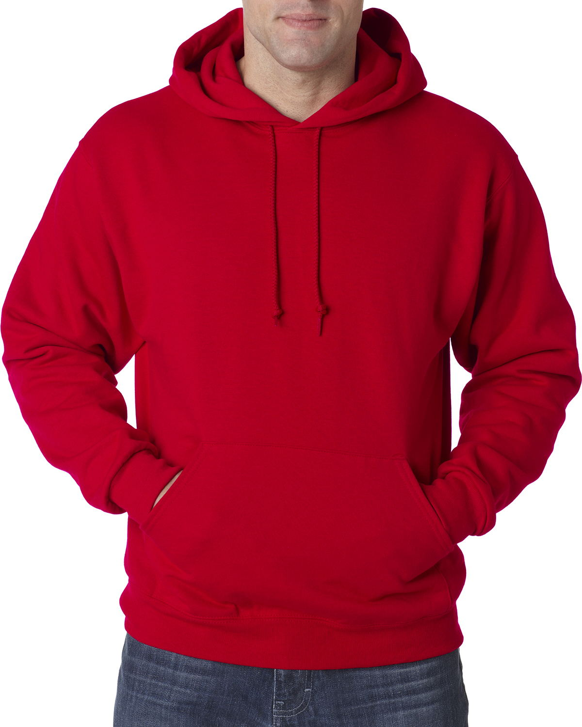 JERZEES 50/50 Hooded Pullover Sweatshirt Tall Sizes - 996MT