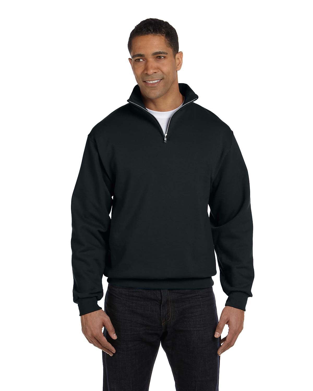 JERZEES - 8 Ounce 50/50 Cadet Collar Sweatshirt