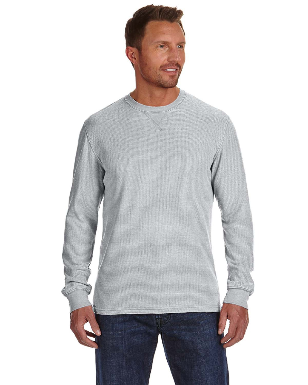 J America JA8241 - Vintage Zen Thermal Long-Sleeve T-Shirt