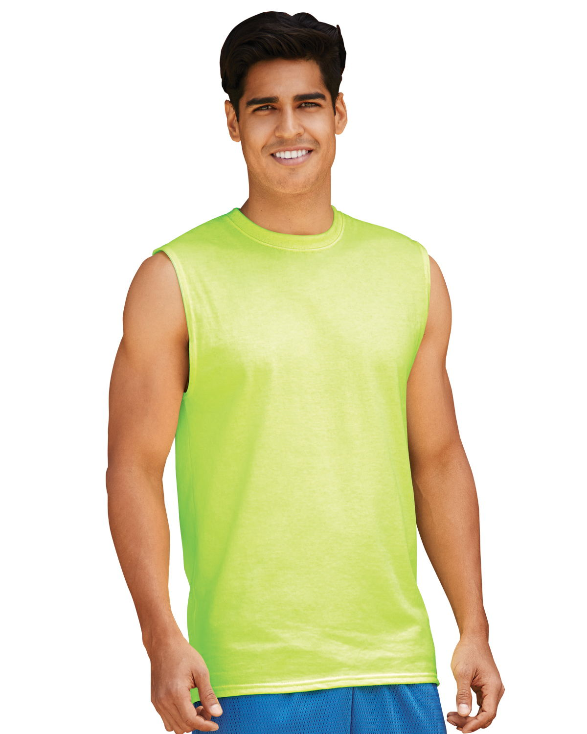 Jerzees 29SR - Adult Sleeveless Shooter Tee Shirt