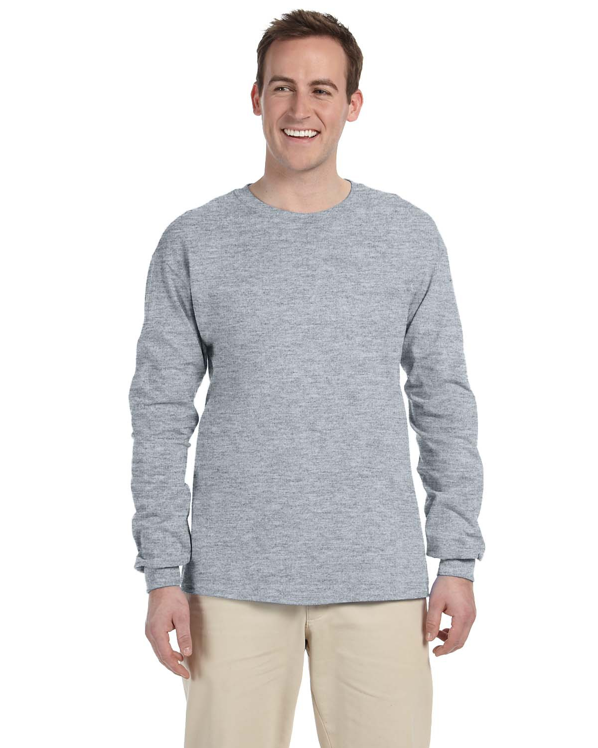 Jerzees 363L Adult 5 oz. HiDENSI-T® Long-Sleeve ...