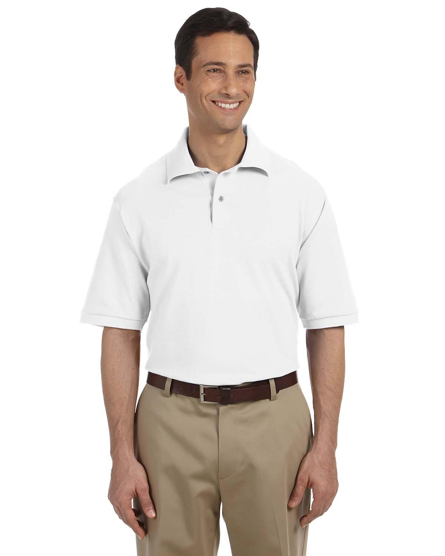 Jerzees 440 Men's 6.5 oz. Ringspun Cotton Pique Polo