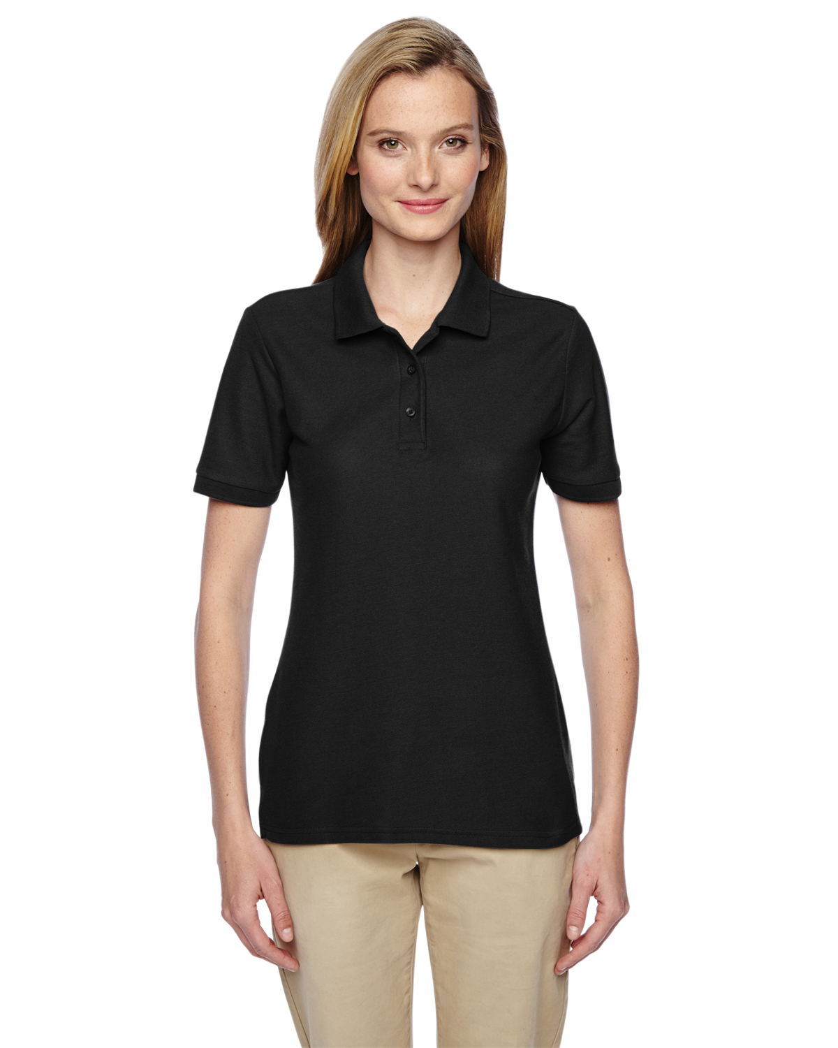 Jerzees 537WR - Ladies' 5.3 oz. 65/35 Easy-Care Polo