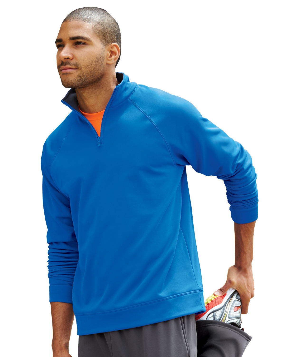 Jerzees PF95MR - Adult Quarter Zip Tech Fleece