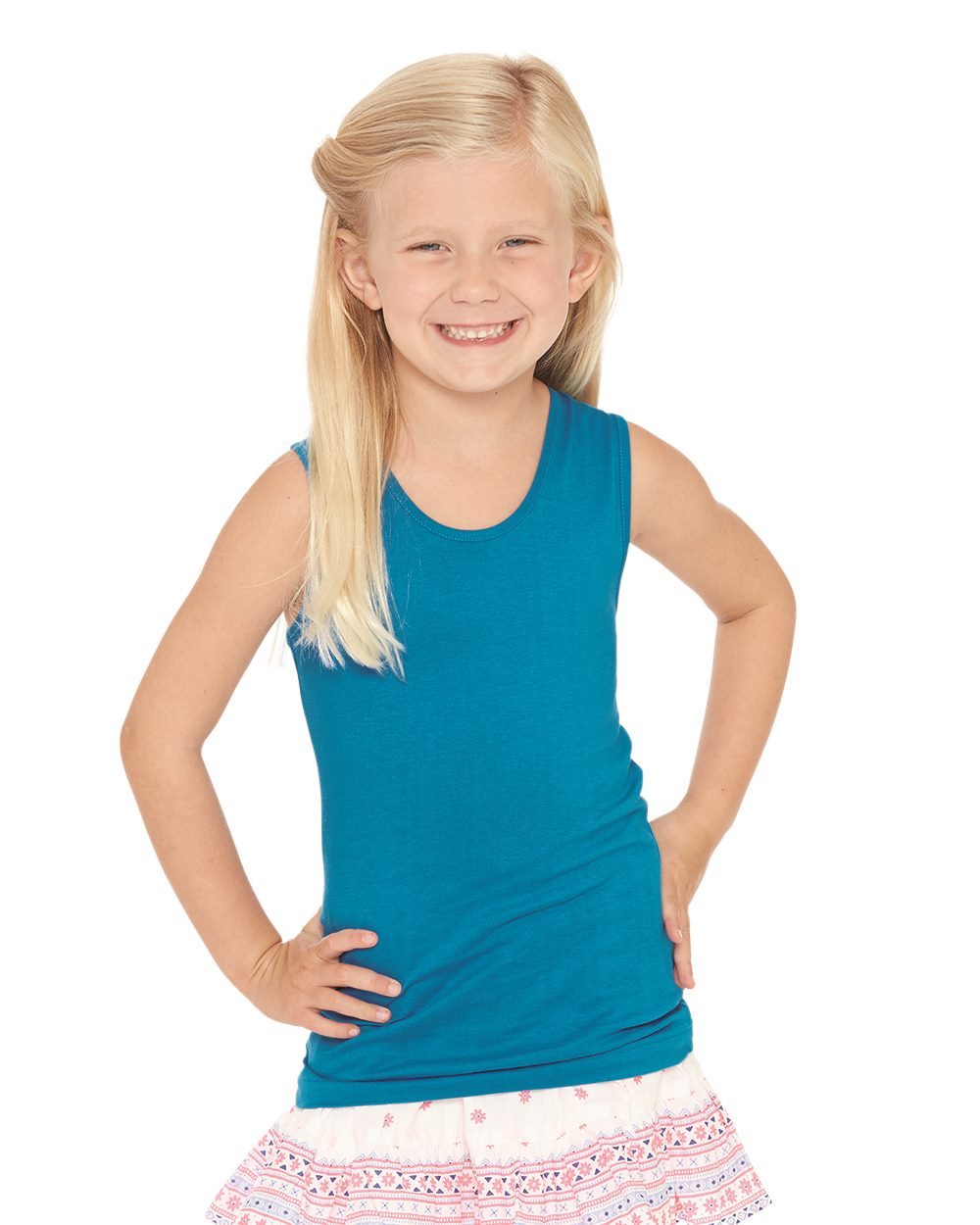 LAT Drop Ship 2690 - Girls' Fine Jersey Tank