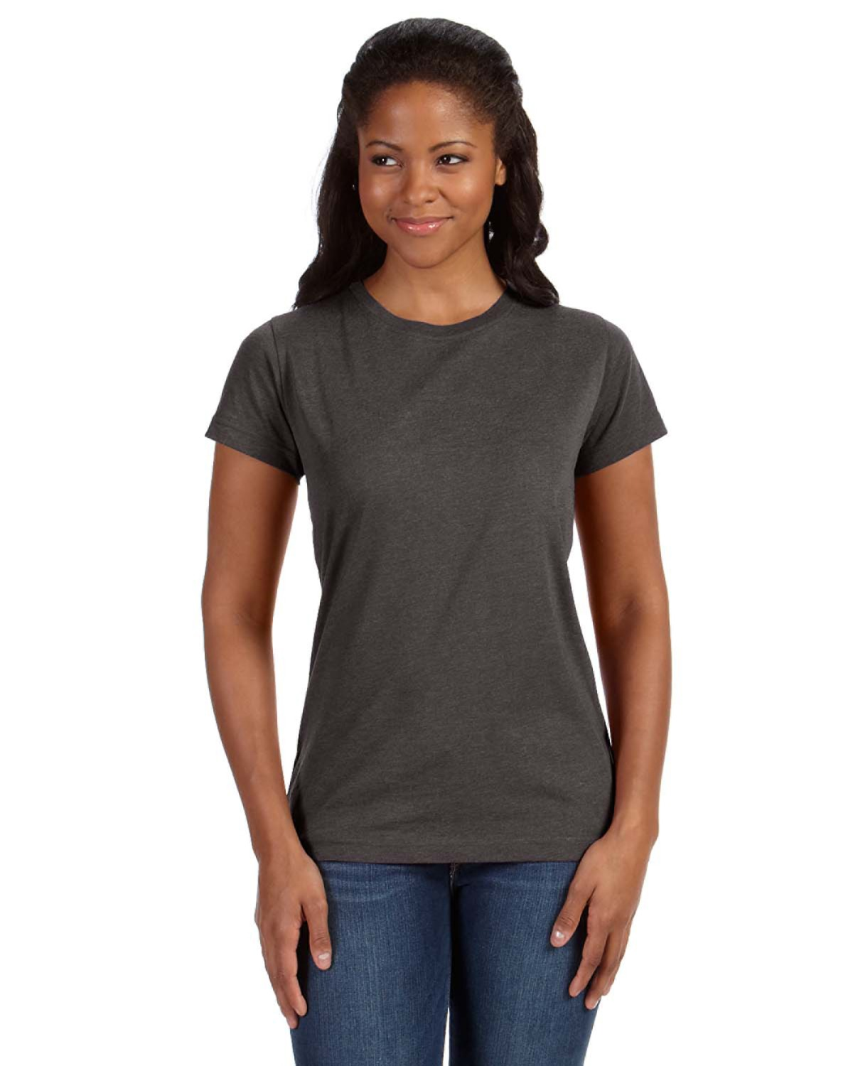 LAT Ladies' Vintage Fine Jersey Longer Length T-Shirt - 3505