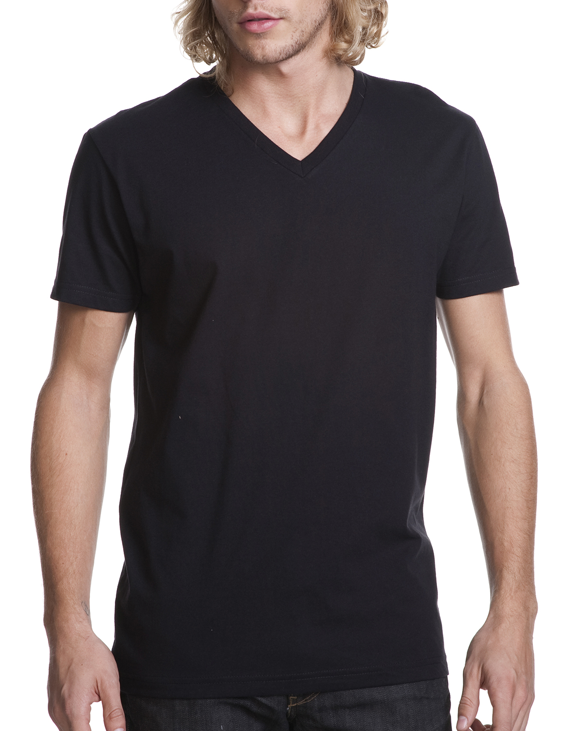 Next Level 3200 - Cotton Short Sleeve V