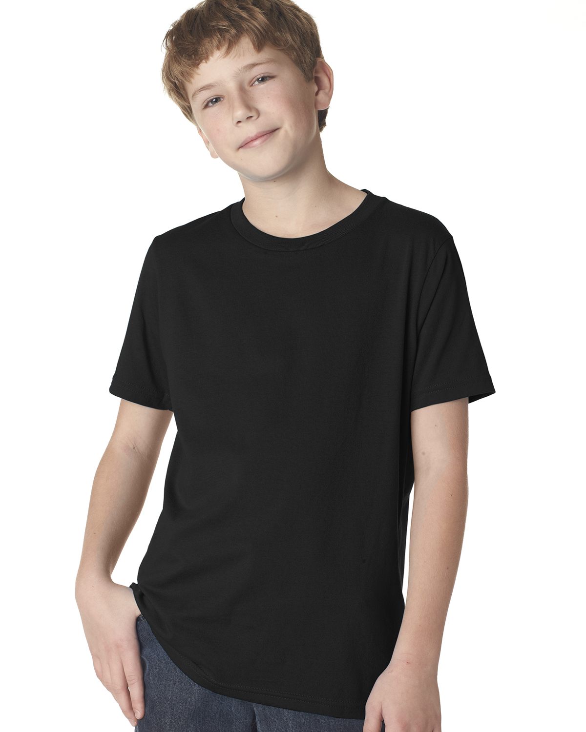 Next Level 3310 - Boy's Short-Sleeve Crew