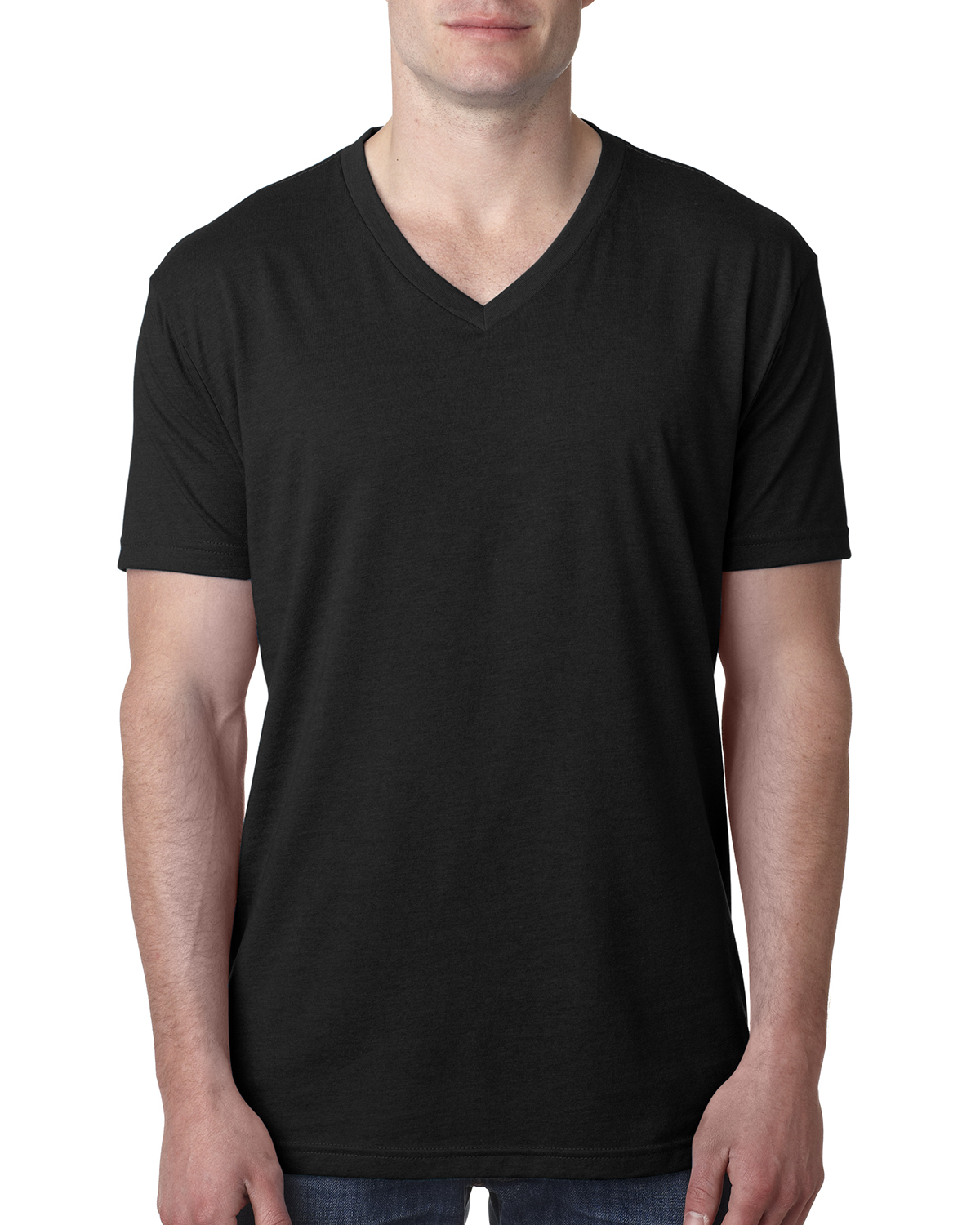 Next Level 6240-Mens CVC V-Neck Tee