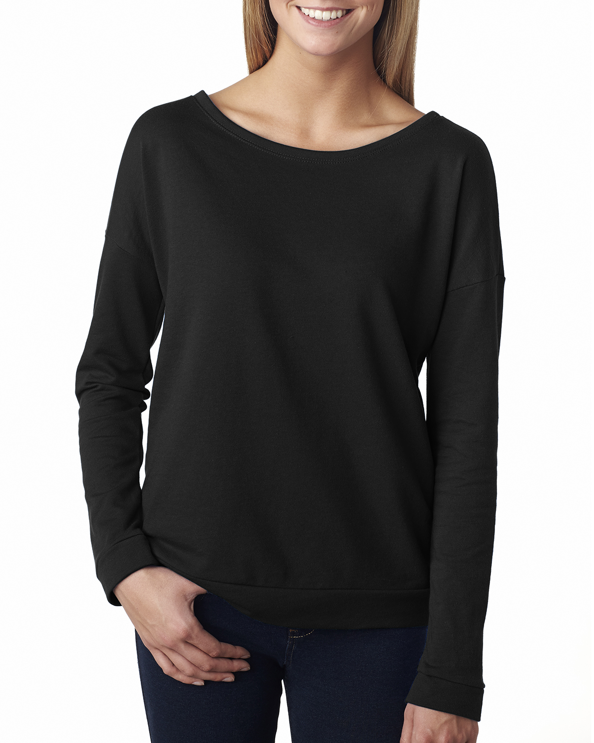 Next Level - 6931 The Terry Long-Sleeve Scoop