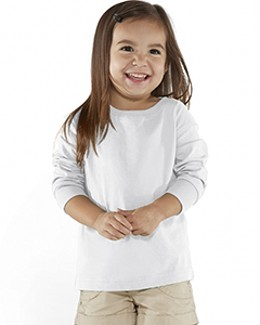 Rabbit Skins Drop Ship RS3302 - Toddler Fine Jersey Long Sleeve T-Shirt