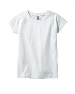 Rabbit Skins Fine Jersey Toddler Girl's T-Shirt - 3316