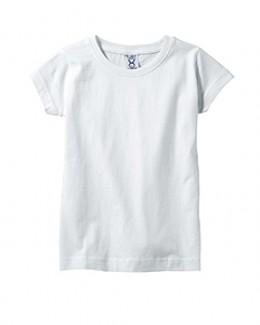 Rabbit Skins Fine Jersey Toddler Girl's T-Shirt - 3316